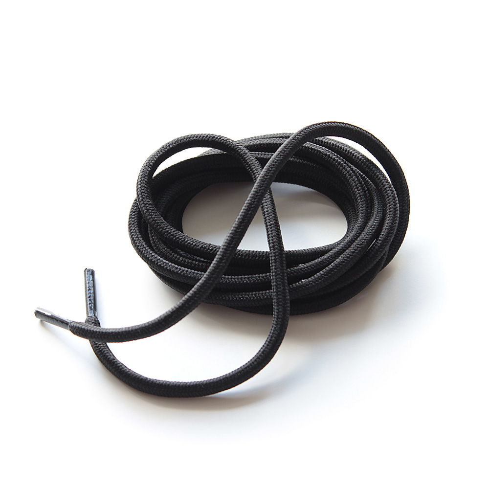 Lacet Rond Uni Noir