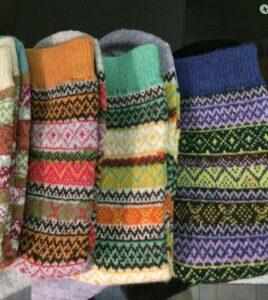 chaussette motif 1